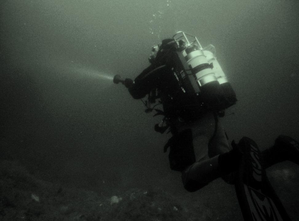 Diver on Kintuck