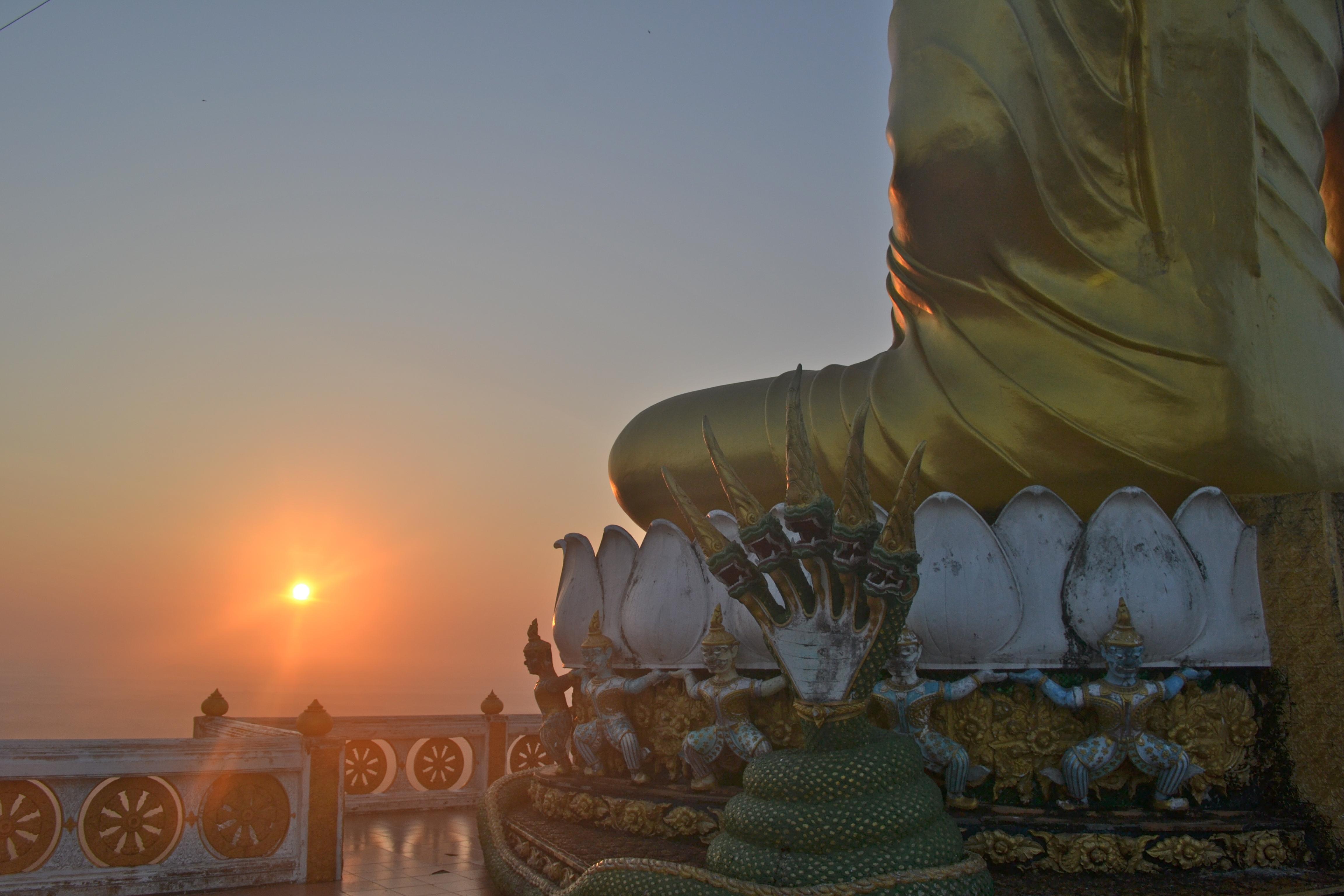 Big Buddha at Tiger Temple