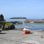 Mullion harbour and island
